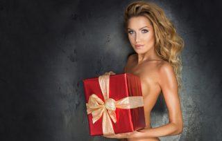 Moteris gavo dovana